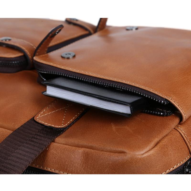 TIDING Hombres de moda maletín bolsos de diseño de alta calidad de - Bolsos - foto 4