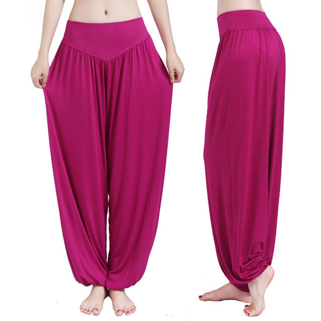 13 Colors Wide Leg Yoga Pants Plus Size Women Loose Pants Long Trousers for Yoga Dance S M L XL XXL XXXL Soft Modal Home Pants