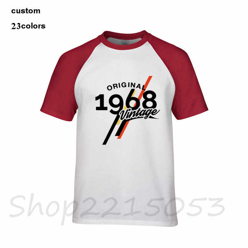 314021c8f ... 2019 Vintage 1968 Classic 50 years old birthday T shirt Men's 50th  birthday T-shirt ...