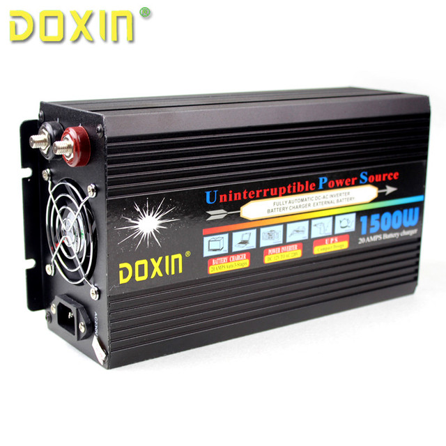 2016 DC 24v to 220vAC 1000w UPS modified sine wave inverter autu battery charging universal protection circuit