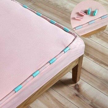 12 unids/set mantas sábanas para la cama Clip práctico ABS colchón pinzas sujetadores ropa clavijas Coverlet titular antideslizante