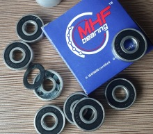 Free Shipping 8PCS SS608-2RS Skate Bearing SUS440C Ceramic ball ABEC-9 Size 8*22*7 Best Price High Performance цена и фото