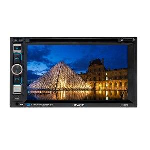 Image 5 - HEVXM 6610 Universal 6,2 zoll Auto DVD Navigation Player Auto Radio Multimedia MP5 Spielen GPS Navigator Dual Spindel Auto video Spielen