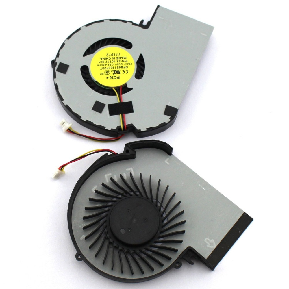 SSEA Wholesale New laptop CPU Fan For Dell Inspiron 15z 5523 Series P/N DFS481105F20T 23.10717.001 Cooling Fan