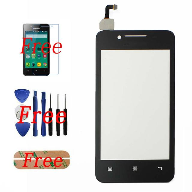 New Touch Screen Digitizer For Lenovo A319 A319i Assembly + Tools + Screen Protector + Adhesive Fast Shipping