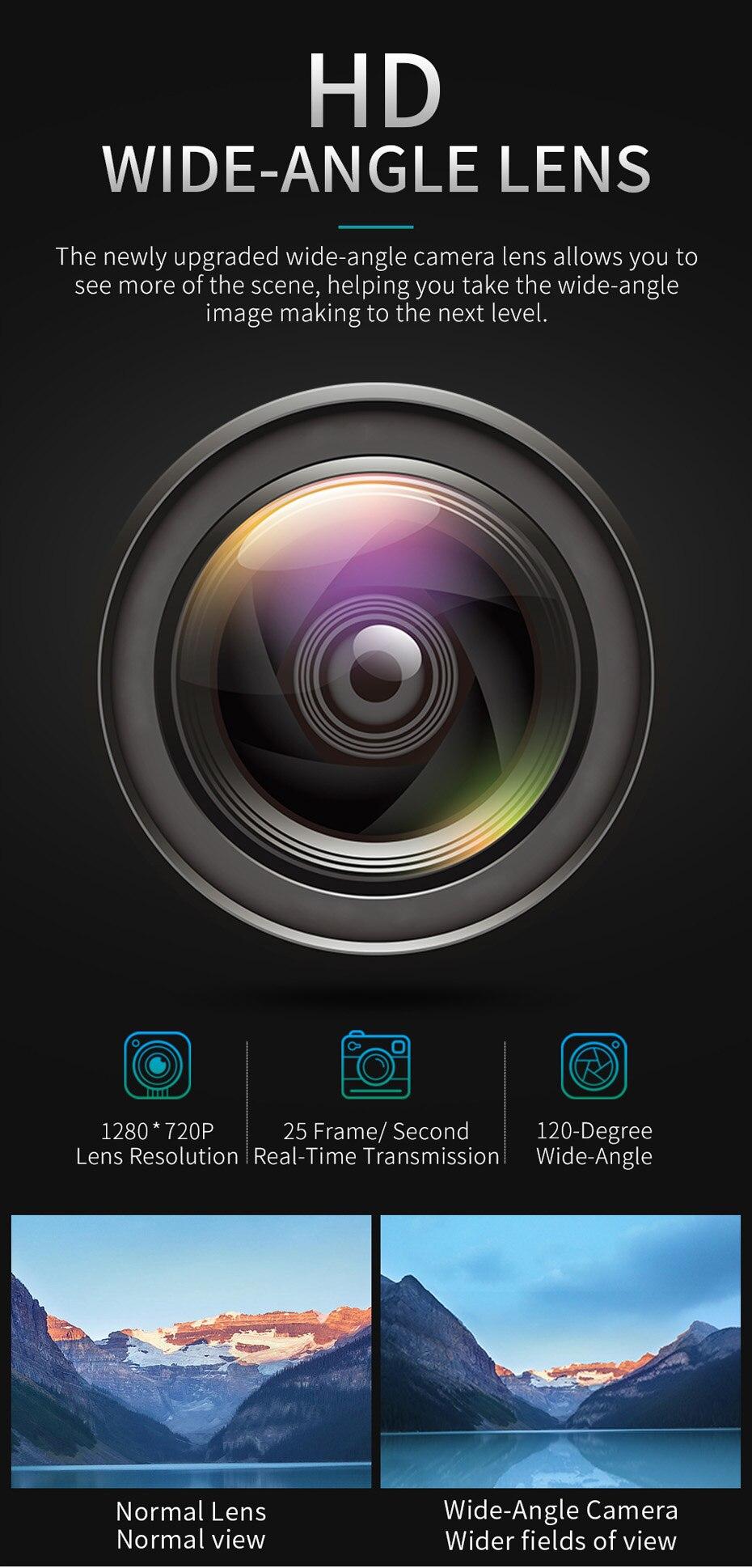 4 Drone 5G Wifi VS H68 Camera 1080P HD