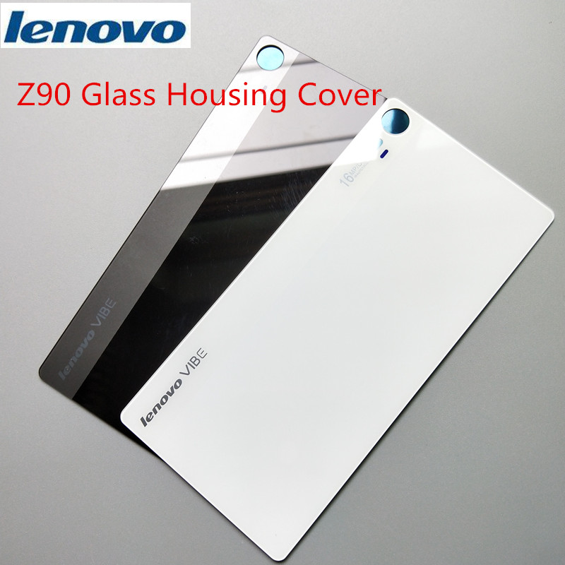 US $3 47 13% OFF|Original Rear Replacement Glass Housing Cover for Lenovo  Vibe Shot Z90,mobile phone Back Door Hard Battery Case Repair Part-in  Mobile