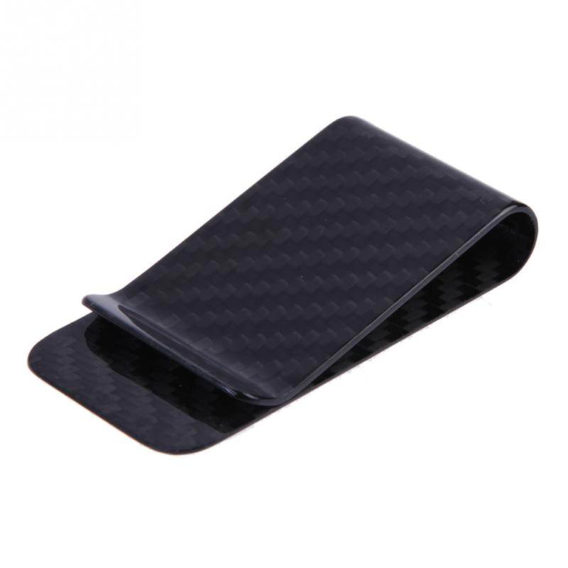 New Carbon Fiber Money Clip Wallet Business Card Credit Card Cash Wallets I Clip Money Holder Safe Wallet Secrid Men Purse Clips