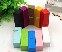 Крафт бумага лак для ногтей бутылок, косметическая коробка упаковки, помада посылка бумажная коробка, пользовательские помады ящики