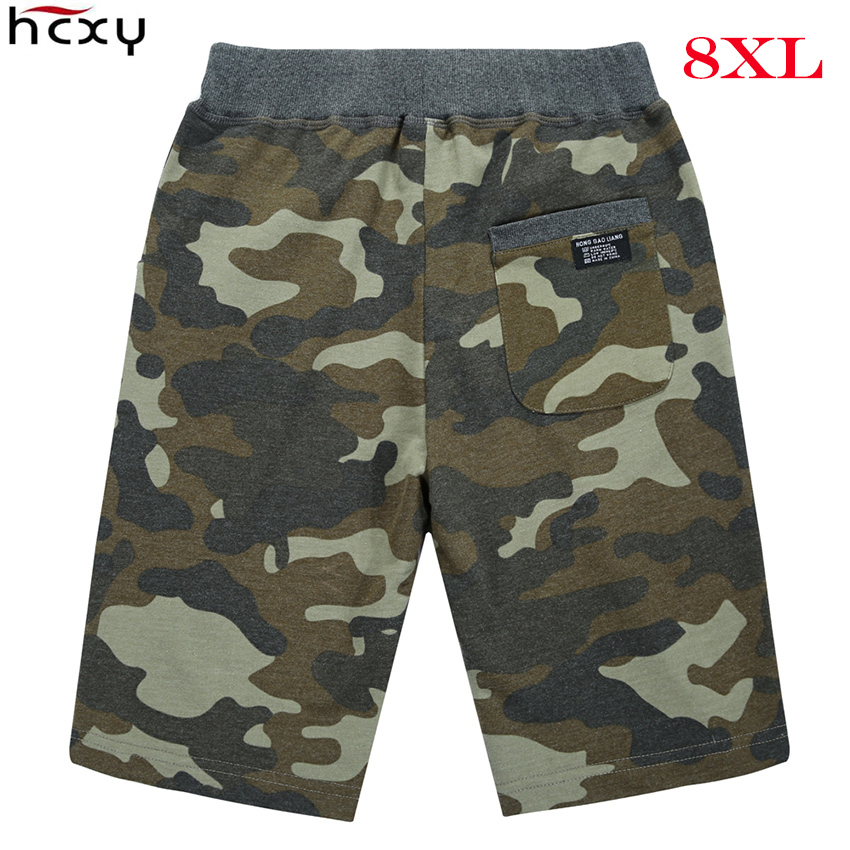 2018 men shorts Summer Sporting shorts men trousers elastic brand men shorts Gyms mens outer wear trousers Large size L-8XL