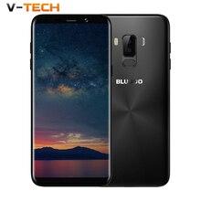 "BLUBOO S8 Plus 18:9 Screen 6.0"" Mobile Phone MTK6750T Octa Core 4G RAM 64G ROM 360 OS Dual Back Camera Fingerprint Smartphone"