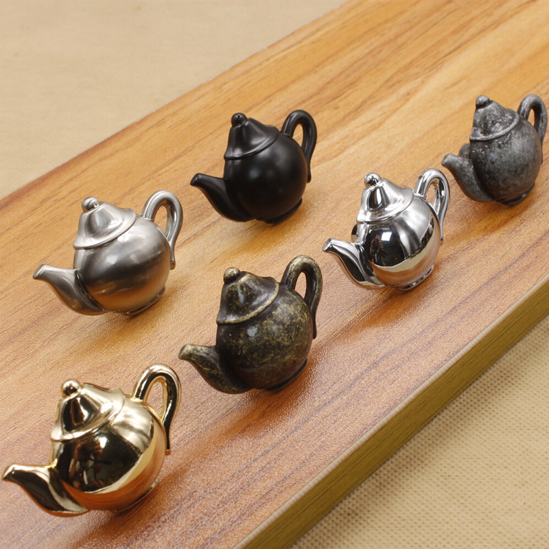 Door Knob Alloy Cabinet Drawer Cupboard Kitchen Pull Cabinet Knobs And