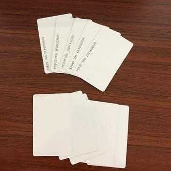 10 sztuk partia karty inteligentnej karty zbliżeniowej RFID 125KHZ EM4100 TK4100 RFID TAG ID karty do kontroli dostępu czas obecności tanie i dobre opinie 2-5cm 125 KHz Rodanliu ---- ISO Karty Pasywne Karty 86 x 54x 0 8 mm Bezstykowe Karty ID EM4100 ID cards Tylko do odczytu