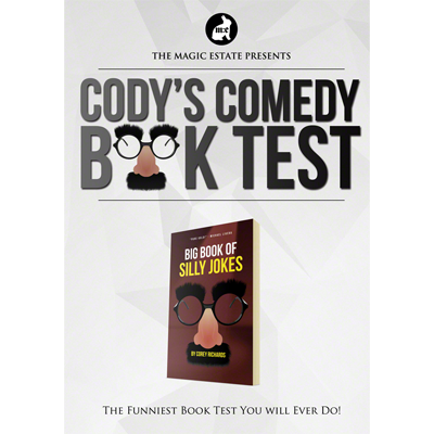Cody's Comedy Book Test by Cody Fisher,Magic Tricks image