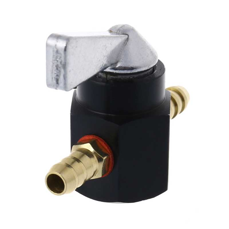 QILEJVS Universal 6mm In-Line Petrol / Fuel Tap Motorcycle On-OFF Petcock  Fuel Switch-m30