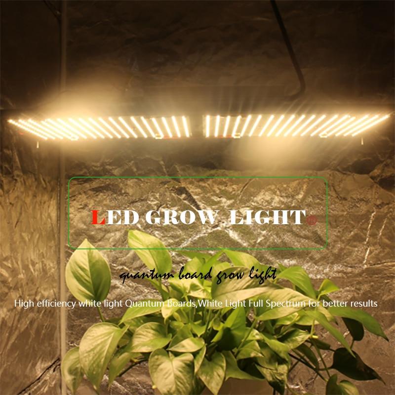 120/240W Led Grow Light Quantum Board Full Spectrum Samsung Dimmable LM561C S6 288pcs 3500K Plant Grow Lamp DIY Chip Grow lamp