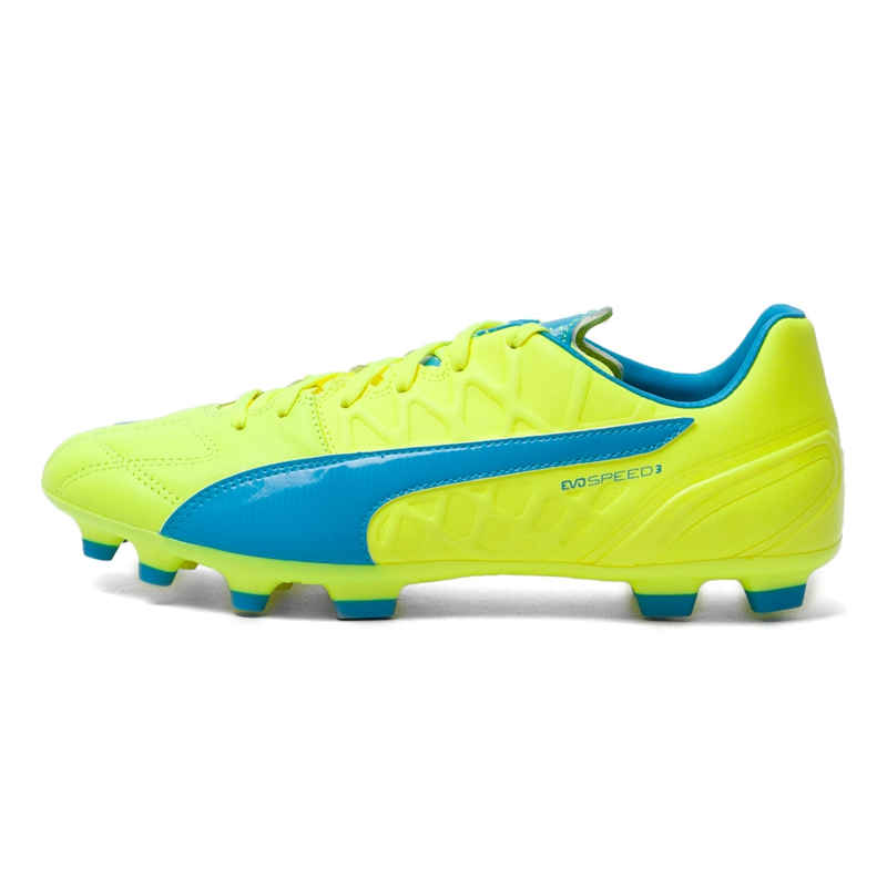 Original New Arrival 2016 Puma evoSPEED 3.4 Lth AG Men's Soccer Shoes Sneakers free shipping