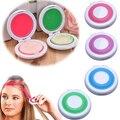 New Design 4 Pcs Não-Tóxico DIY Temporária Cabelo Giz Dye Pastels Kit de Ferramentas do Salão de Beleza