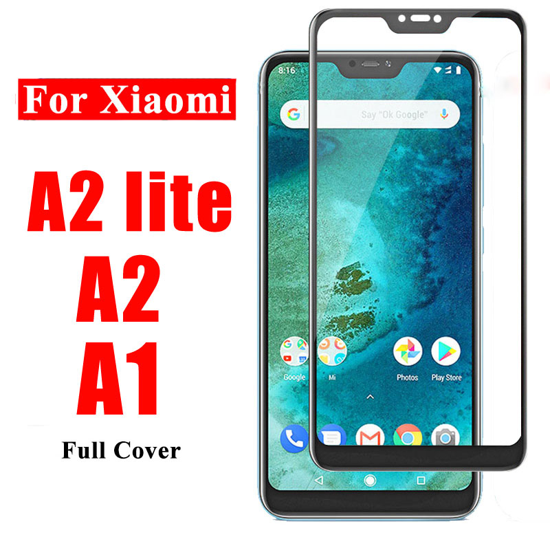 A2 Lite Protective Glass For Xiaomi Mi A2 Lite A1 A2lite Tempered Glass For Xiaomi Mi A1 A2lite Screen Protector Xiomi Mi A1 A 1