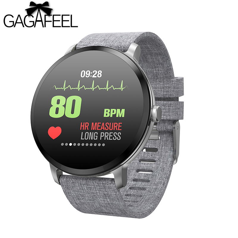 Gagafeel V11 Smart watch IP67 waterproof Tempered glass Activity Fitness tracker Heart rate monitor Men women smart Wristband v11 smart watch ip67 waterproof tempered glass activity fitness tracker heart rate monitor brim men women fitness smart watch
