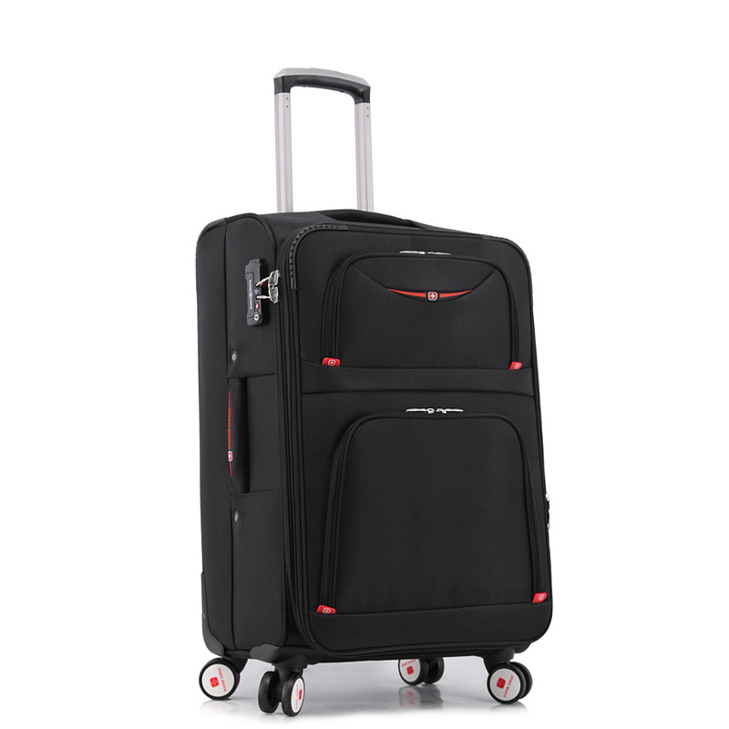 New Fashion font b oxford b font Students rolling luggage spinner 20 boarding box 29 Women