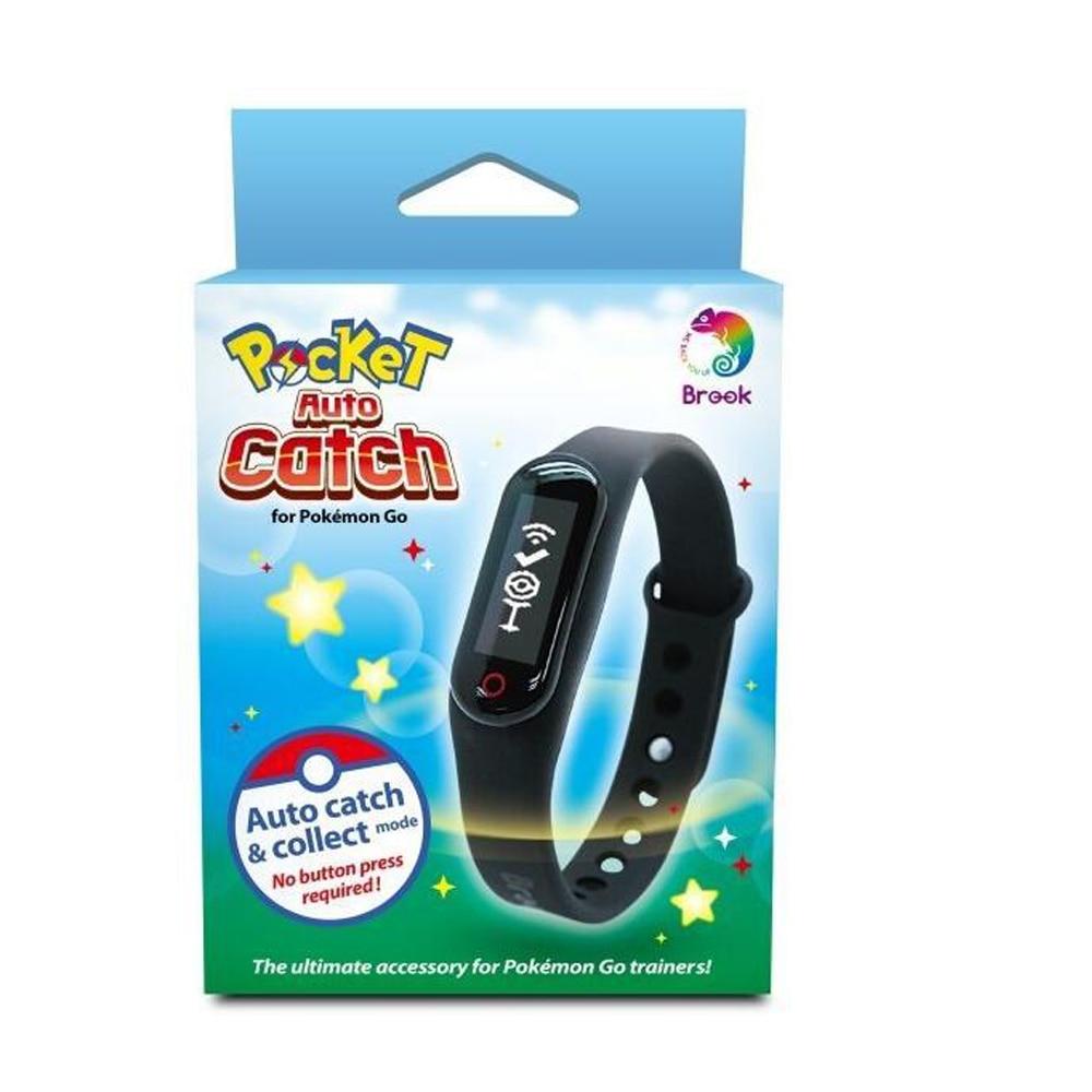 Bracelet de poche Bluetooth avec Bracelet Brook et capteur de capture automatique pour Pokemon Go pour Nintendo Android IOS Plus besoin d'y aller