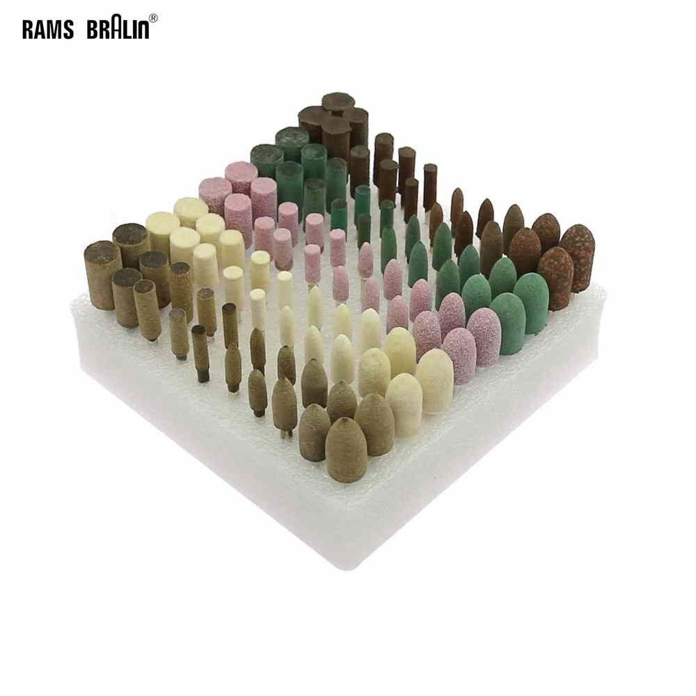 100 piezas en puntos de cabezas Dremel Mini taladro eléctrico accesorios de pulido Bobs