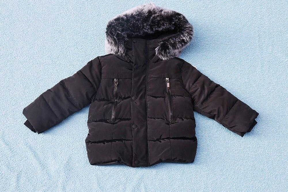 63d66b685283 Boys Winter Coat Baby Girls Jacket Kids Warm Outerwear Children Coat 2018  Fashion Spring Children Clothing Girls Hooded jacket