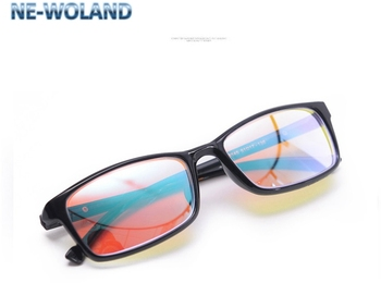 Red and green color blind and weak correction glasses, suitable for daily driving, painting, printing and dyeing related work.
