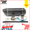 ZS Racing Universal Motorcycle Dirt Bike Exhaust Escape Modified Scooter Akrapovic Exhaust Muffle Fit For Most