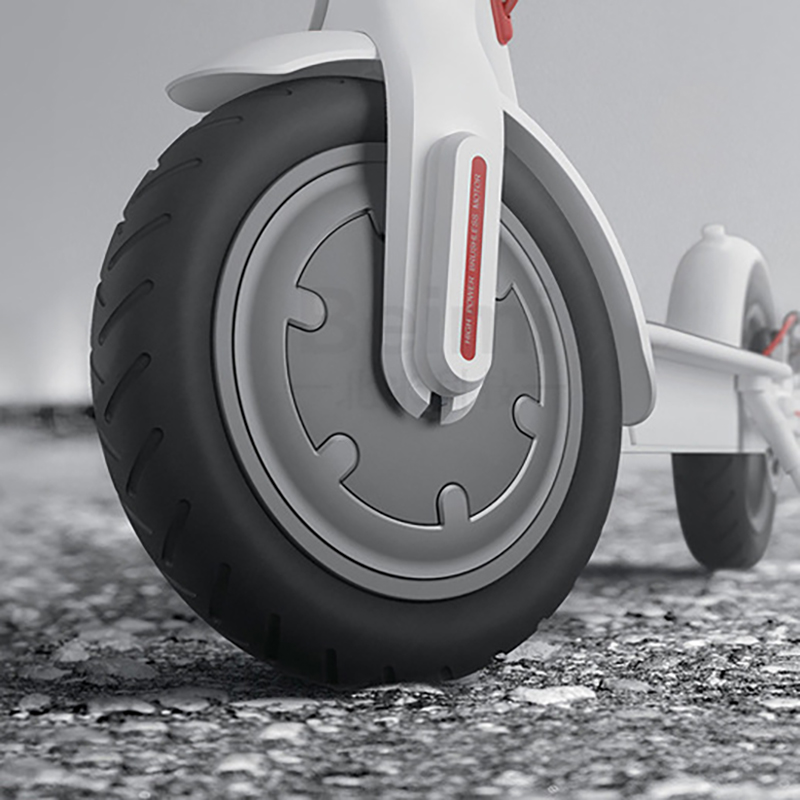 For Xiaomi Mijia M365 Scooter Skateboard Tyres Solid Hole Tires Shock Absorber Non-Pneumatic Damping Rubber Tyres Wheels Durable