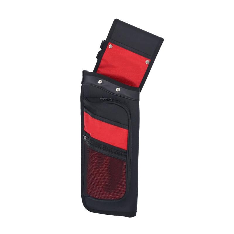 4 Color Reverse Arrow Quiver Single Shoulder Quiver Bag for Recurve / Compound Bow Archery Hunting Shooting