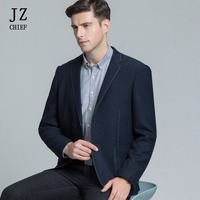 JZ CHIEF Elegant Blazer Men Suit Jacket Formal Business Blazer Jacket Casual Slim Fit Wedding Jackets Men Leisure Suits Solid