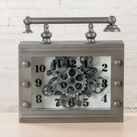 Clock Watch Table Clock Reloj Saat reveil Clocks Masa Saati Relogio de mesa Retro do the old table clock gear Digital Watch Klok