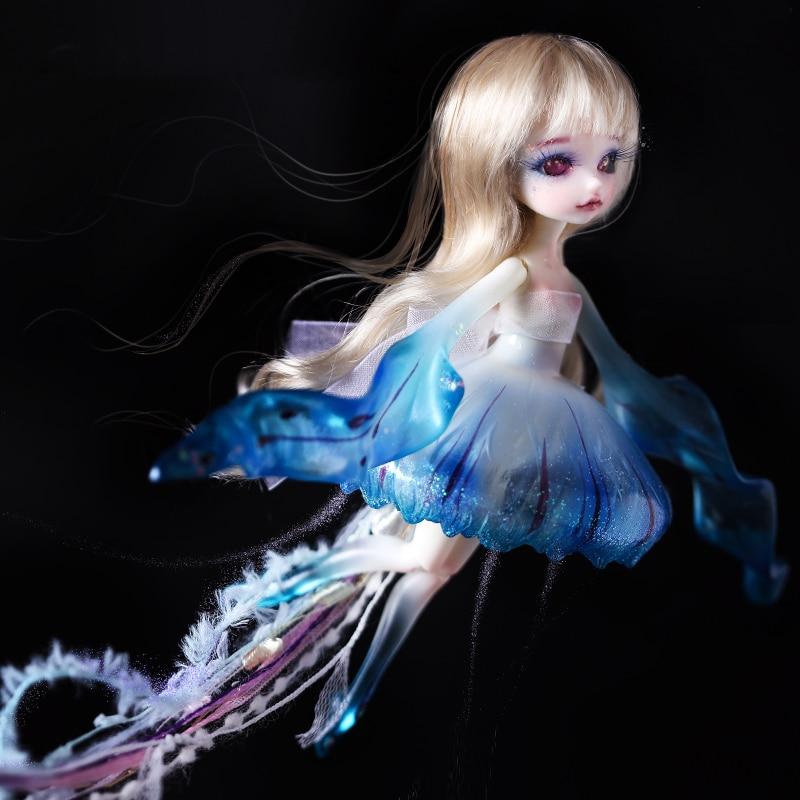 Doll BJD 1 8 jellyfish lumu toys model girls nude high quality doll give up toys