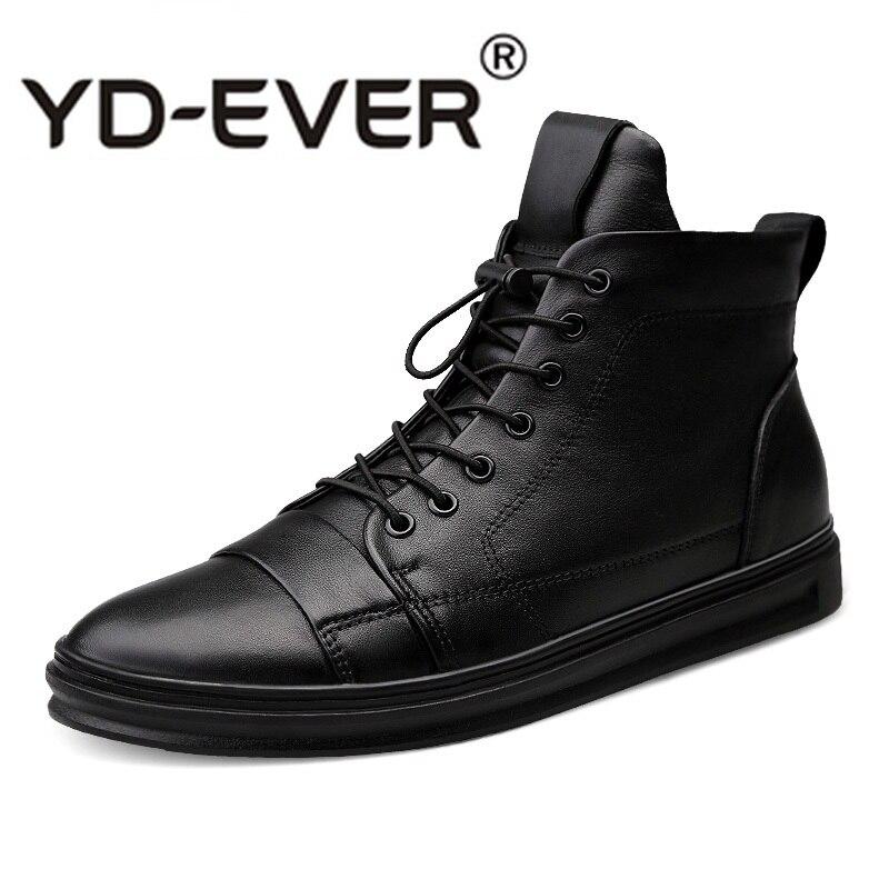 Sneakers Men 2019 Luxury Fashion Genuine Leather Men's Shoes Tenis Casual Masculino Footwear Zapatos Cuero Hombre
