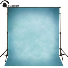 Allenjoy Thin Vinyl cloth photography Backdrop blue Children Wedding Baby Background Photo Studio Decor Backgrounds MH-074