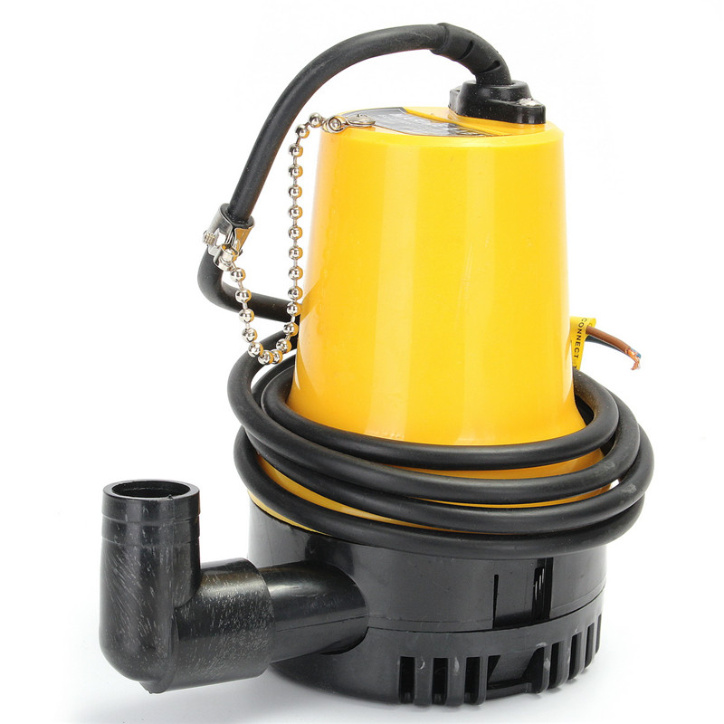 MTGATHER 1620GPH 6000L/H Submersible Water Pump Clean Clear Dirty Pool Flood DC 12V 4800RMP mini electric brushless water pump dc12v 6m 500l h ultra quiet aquarium pump devices motor submersible pool water pump