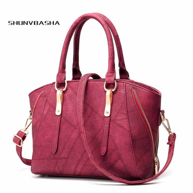 80387fca690 Cheap Shop Online Women Handbags Famous Brands Luxury Handbags Women Bags  Designer PU Stitching Crossbody Bags Of Ladies Bolsas
