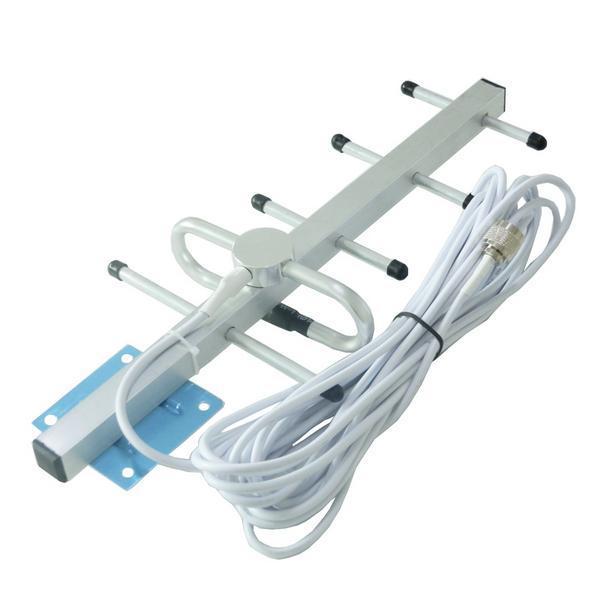 10 m cabo de antena 824-960 Mhz 5 Unidades Yagi ao ar livre Yagi Antena para GSM 900 MHz/CDMA 850 MHz repetidor de sinal de antena Ao Ar Livre