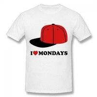 DIY Baseball Cap Printed T Shirt Play Boy Loves Moneys Short Sleeve T Shirts Summer Pop