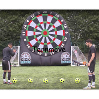 Inflatable Football Dart Board ,Inflatable Soccer Dart Game Foot Darts Game kick inflatable football target dart game