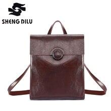 Мода 2017 г. 100% Натуральная кожа рюкзак женщины Сумки элегантный дизайн рюкзак для девочек Школьные ранцы молнии Kanken кожаный рюкзак