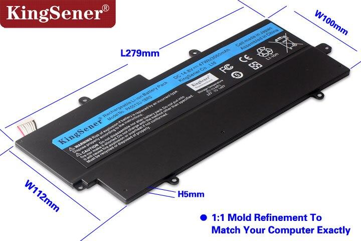Japonais Cellulaire PA5013U-1BRS PA5013U Batterie pour Toshiba Portege Z835 Z830 Z930 Z935 Ultrabook PA5013 14.8 v 3060 mah Avec Livraison outil - 3
