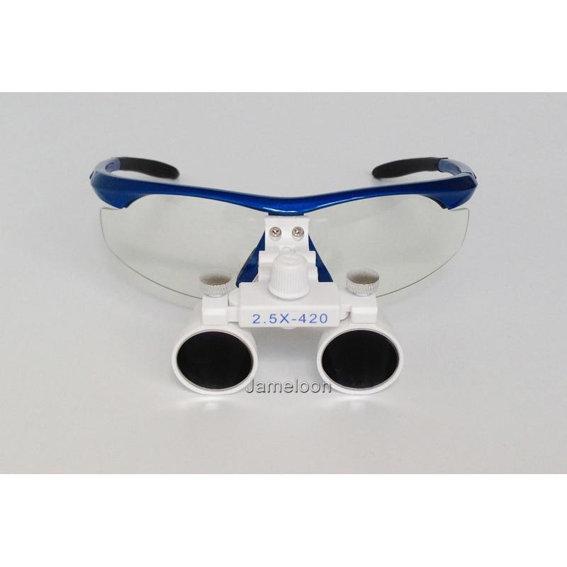 2.5X magnificar lupa dental equipo médico lupas antiniebla lentes - Instrumentos de medición - foto 3