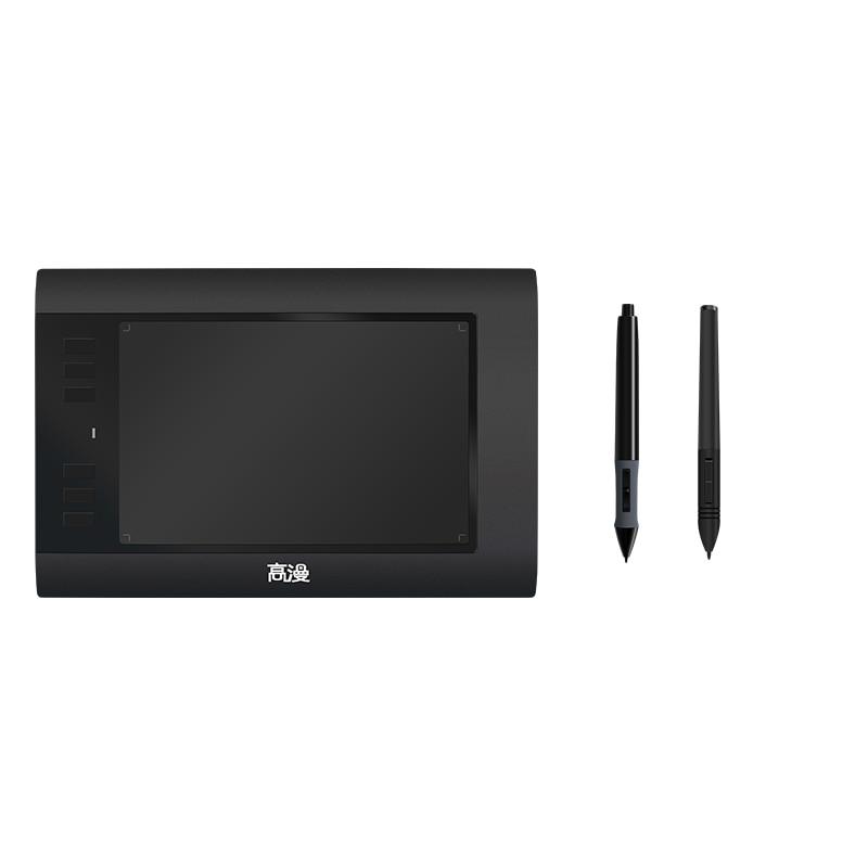 D'origine GAOMON 6 Touches Express 860 T USB Numérique DrawingTablets pour la Retouche Photo Dessin Comique avec Rechargeable Stylo