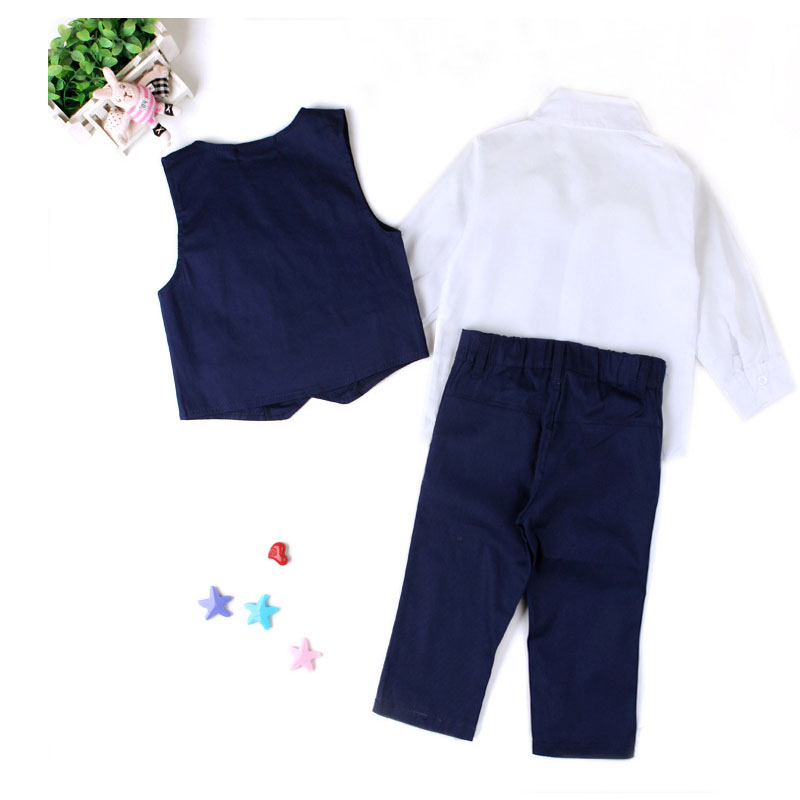 Handsome Boys Suit 3pcs Children's Formal Occasion Clothing Set - Children's Clothing - Photo 3