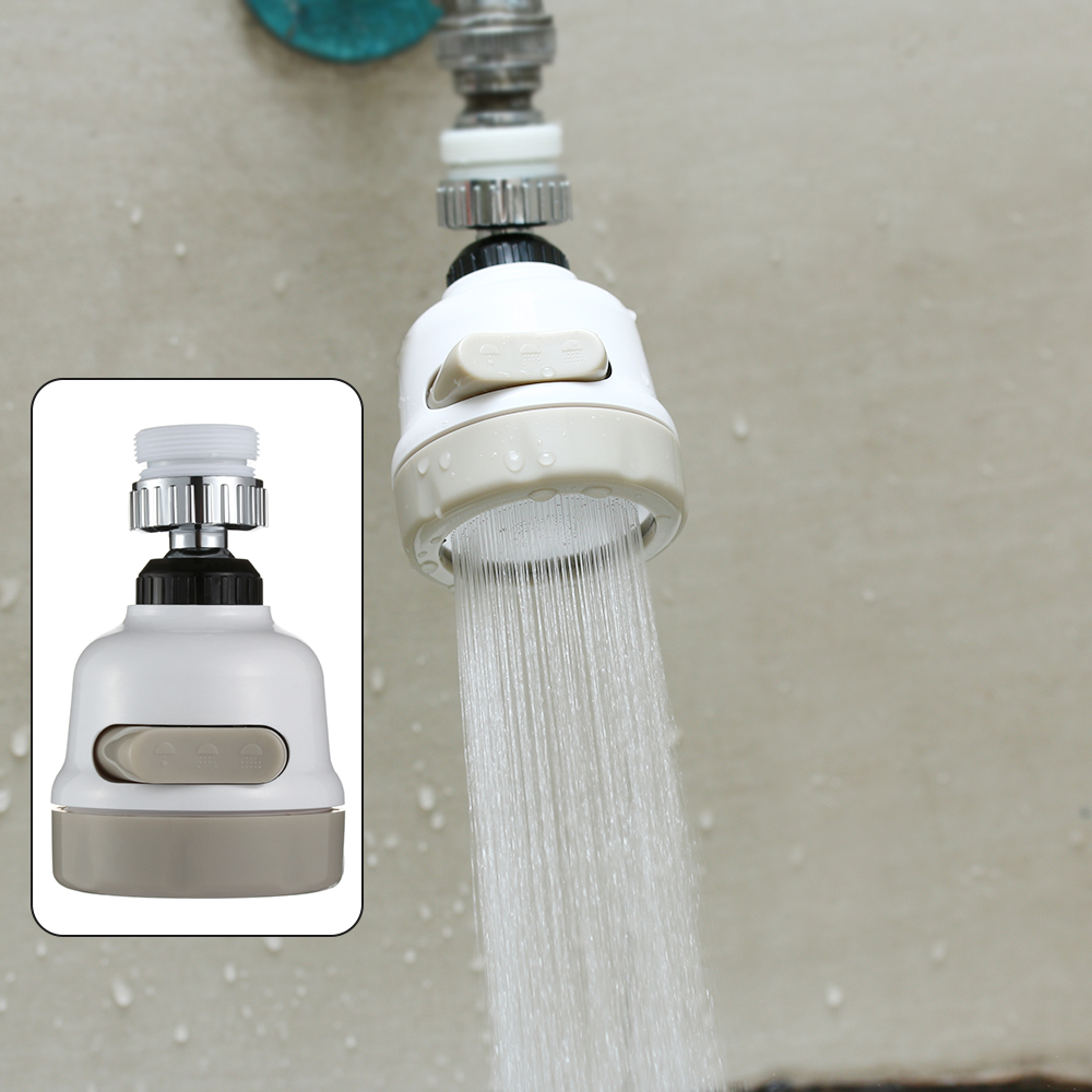 1Pcs Moveable Kitchen Tap Head Universal 360 Degree Rotatable Faucet Water Sprayer Tap Splash Regulator