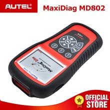 Autel MD802 OBD2 Scanner EOBD Scan Tool for Engine Transmission ABS Airbag EPB Oil Service Reset Code Reader Diagnostic Tool цена