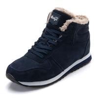 2017 Break Out Men Boots For Snow Winter Boots For Men Ankle Boots Warm Short Plush